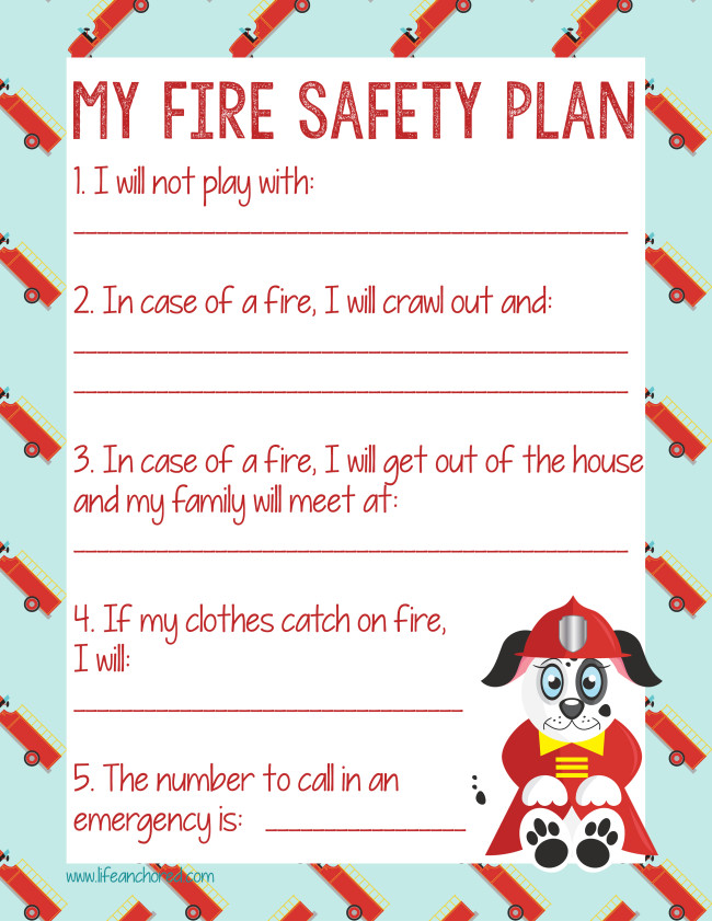 Photo home fire safety plan images simple backyard fire for House fire safety plan
